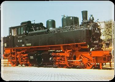 Plechová cedule Lokomotiva 98 001 vlak