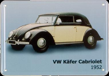 Plechová cedulka VW Brouk Kabriolet