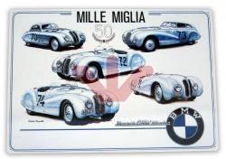 Plechová cedule BMW Mille Miglia
