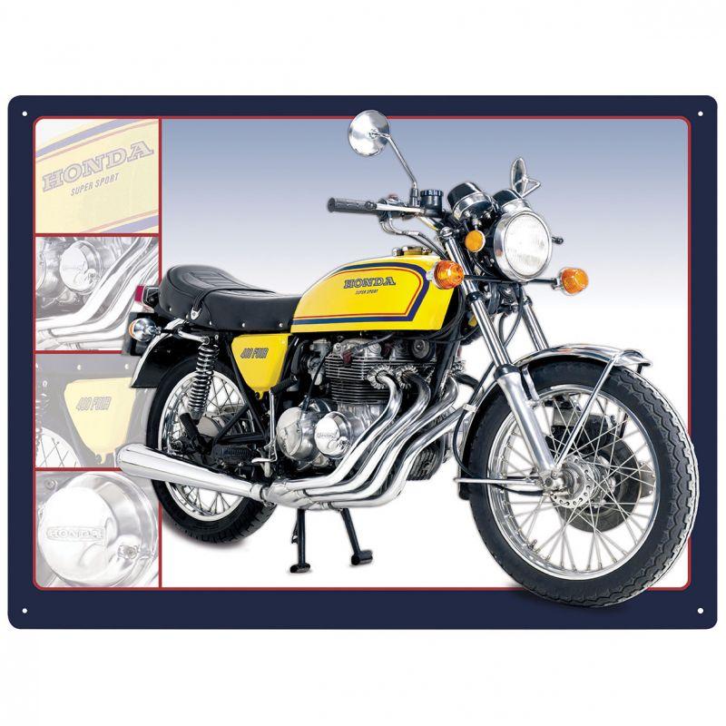 Plechová cedule motorka Honda 400 Four