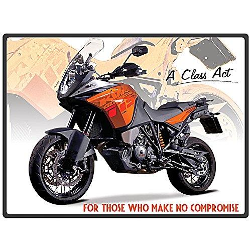 Plechová cedule motorka KTM