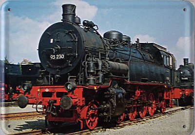 Plechová cedule Lokomotiva 93230 vlak