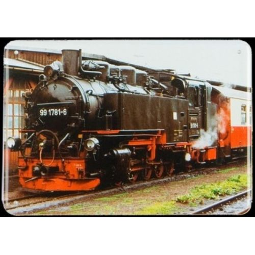 Plechová cedule Lokomotiva 991871-6 vlak