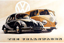 Plechová cedule Volkswagen S