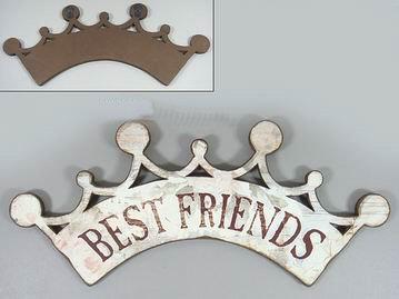 Dřevěná cedule Best Friend