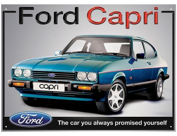 Plechová retro cedule Ford Capri