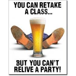 Cedule pivo You can retake a class