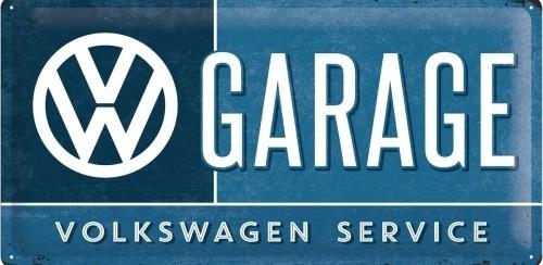 Plechová cedule VW Garage volkswagen service