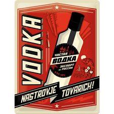 Plechová cedule Vodka