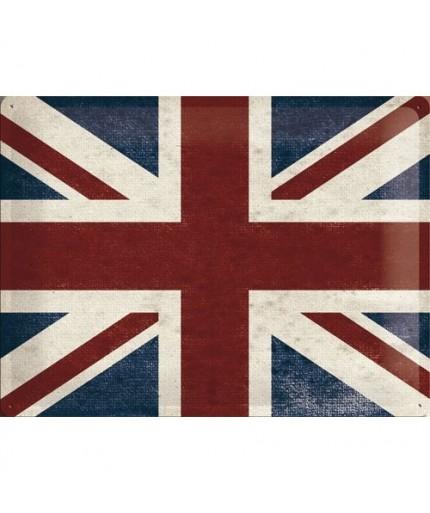 Plechová cedule Britská Vlajka - Union Jack