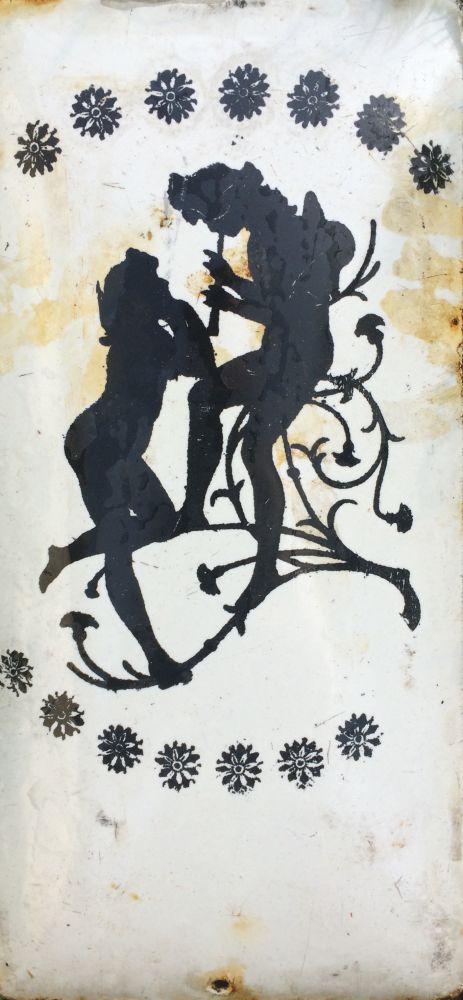 Originální smaltovaná cedule Rokoko