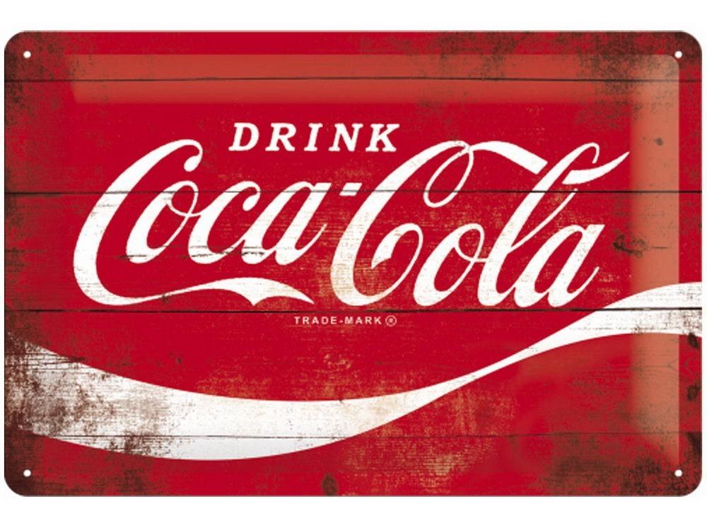 Plechová cedule Coca cola Drink