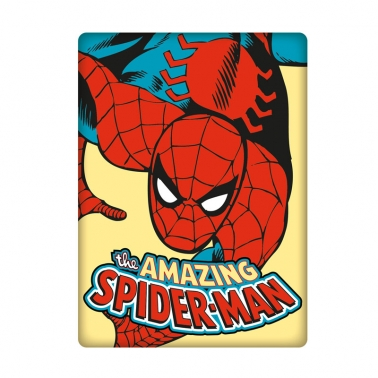 Plechový magnet Spider man