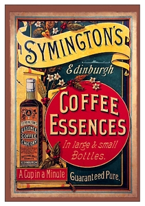 Plechová cedule Symingtons Coffee