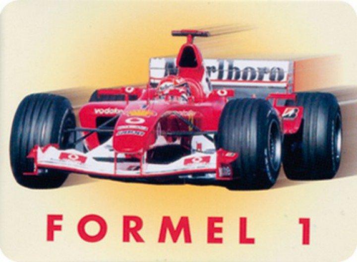 Plechová cedulka Formule