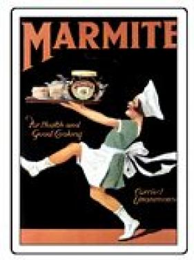Plechová cedule Marmite střední