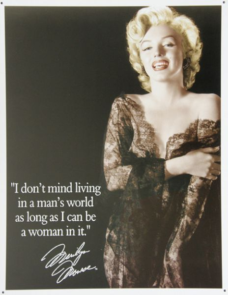 Plechová cedule Marilyn Monroe 4