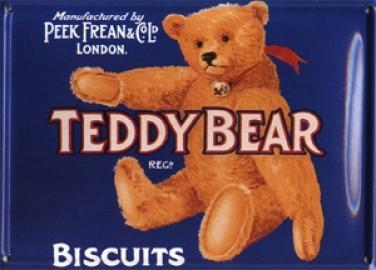 Plechová cedulka medvídek Teddy Bear