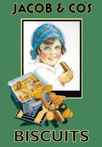 Cedule Jacob´s Biscuits