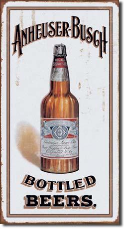 Plechová cedule pivo Anheuser - Busch CABP001