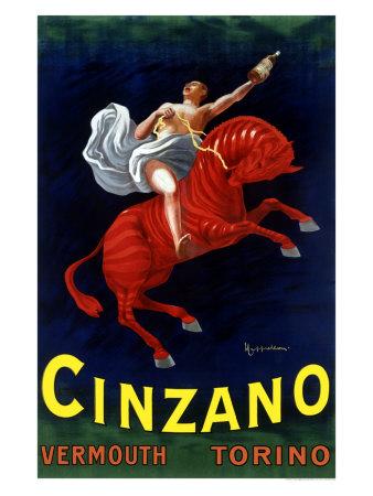 Plechová cedule Cinzano vermouth