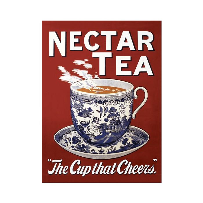 Plechová cedule Nectar tea Čaj