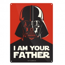 Plechová cedule Star wars I Am Your Father