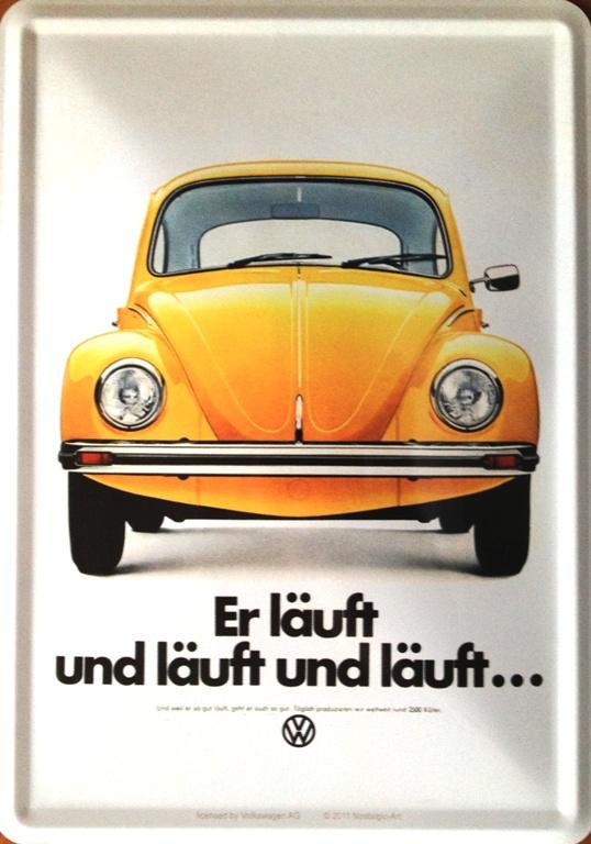 Magnet na lednici VW Brouk