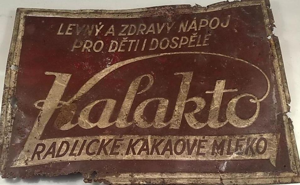 Plechová cedule Kalakto