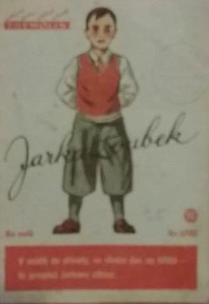 Originální papírová reklama Jarka Zoubek - pohádka Thymolin