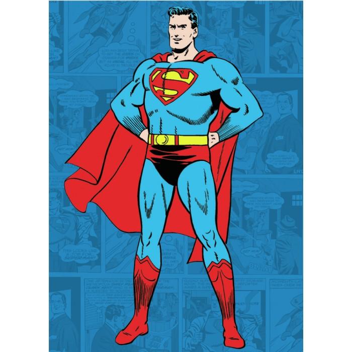 Plechový magnet Superman