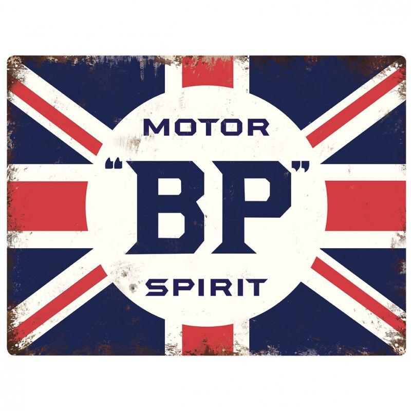 Plechová cedule Motor BP Spirit