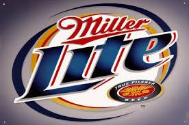 Plechová cedule pivo Miller lite