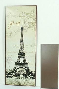 Plechová retro cedule Paris Carte postale