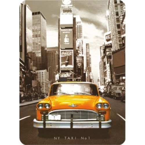 Plechová cedule New york - Yellow taxi