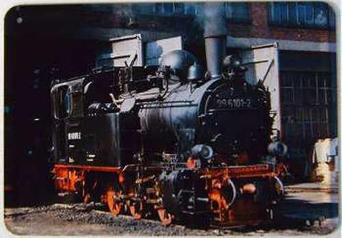 Plechová cedule Lokomotiva 996101-2 vlak
