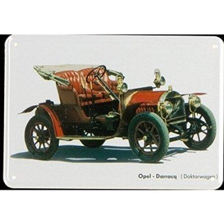 Plechová cedulka Opel Darracq