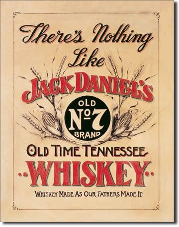 Plechová cedule Jack Daniels Old time Tennessee