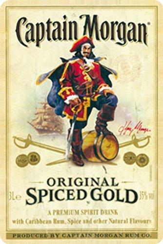 Plechová cedule Captain Morgan
