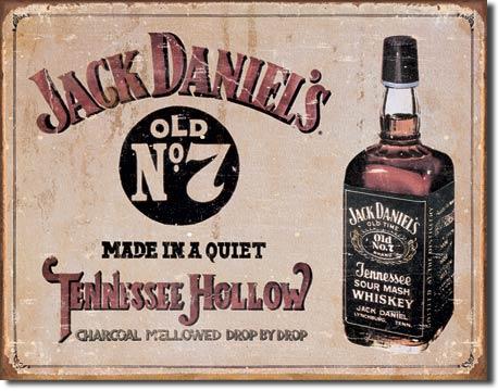 Magnet na lednici Jack Daniels Tennessee Hollow