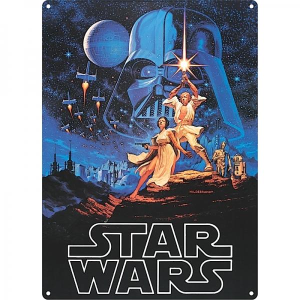 Plechová cedule Star wars