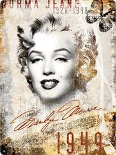 Plechová cedule Marilyn Monroe Norma Jean