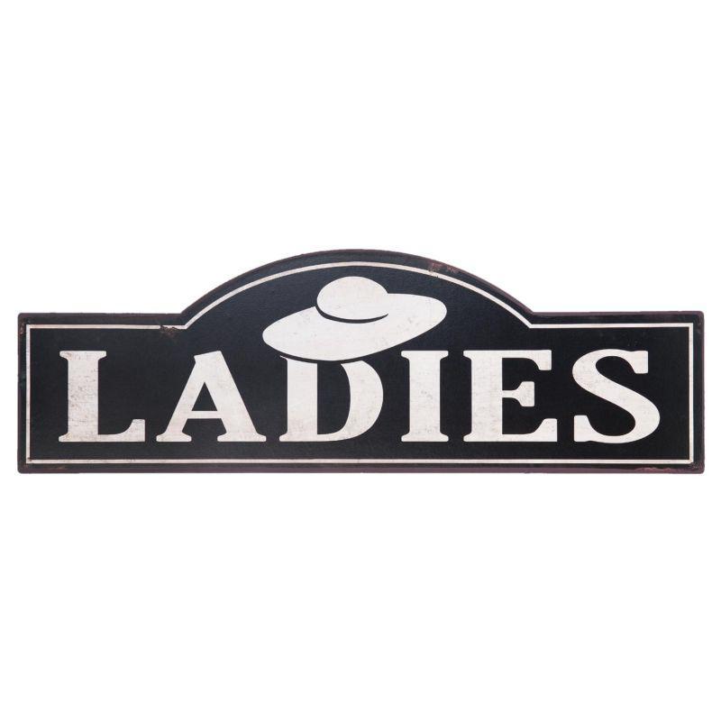 Plechová retro cedule Ladies