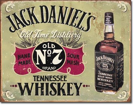 Plechová cedule Jack Daniels Old NO 7