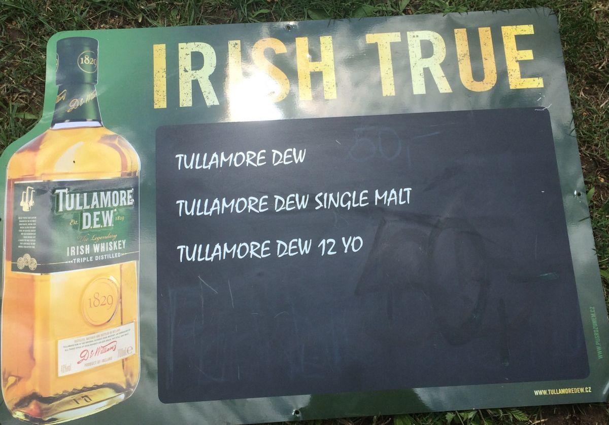 Plechová cedule Tullamore Dew