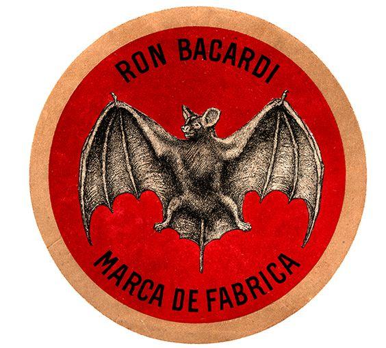 Plechová cedule Bacardi - Ron Bacardi