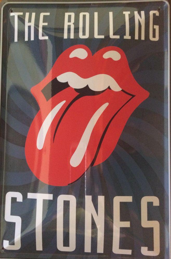 Plechová cedule The Rolling Stones