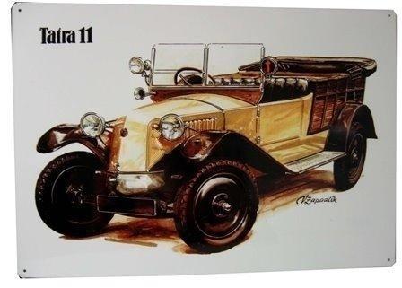 Plechová cedule Tatra 11