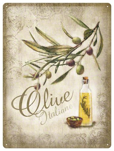 Plechová cedule Olive