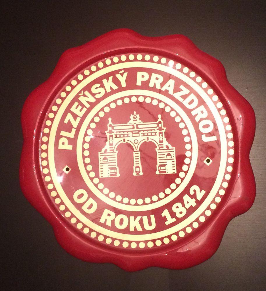 Originální plastová cedule Pilsner Urquell pečet